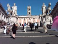 Roma Piazza del Campidoglio
