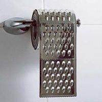 grater toilet paper