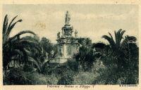Palermo-Villa Bonanno Statua