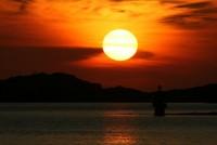 Italy Isola dell Asinara Tramonto 01